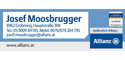 Logo Josef Moosbrugger Allianz